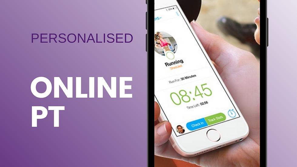 Personalised Online PT