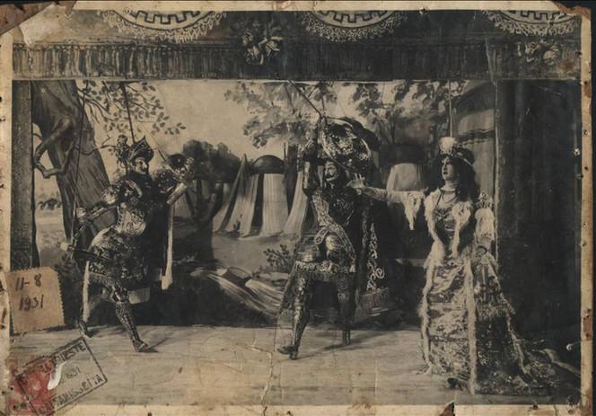 Pupi F.lli Napoli-Prima Disfida Regionale opera dei pupi 1931