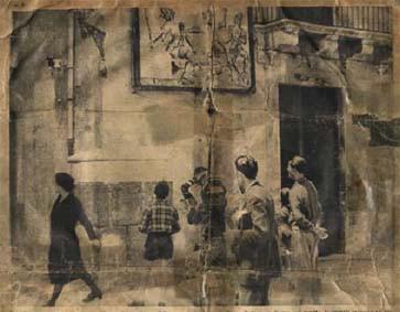 Fine anni quaranta.Teatro F.lli Napoli di Via Consolazione