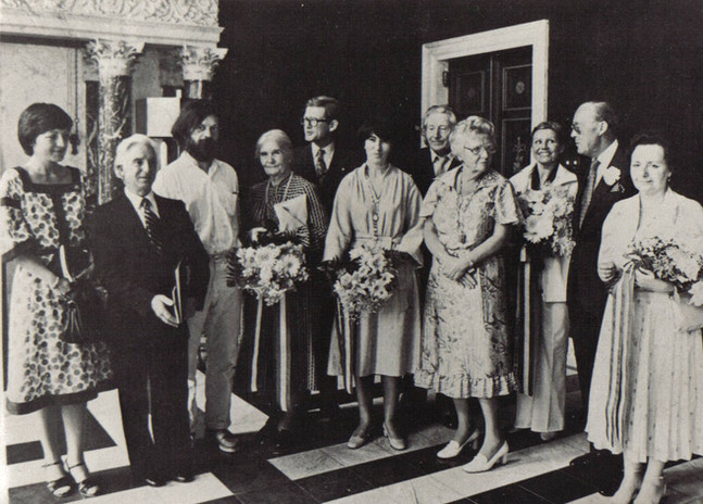 Premio Erasmo 1978-Palazzo Reale di Amsterdam