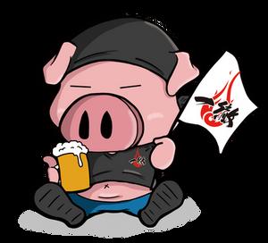 豚キャラクター