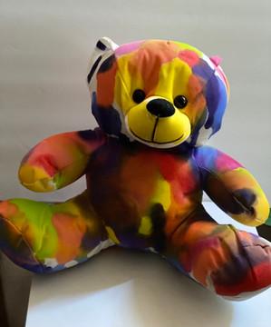 DIY Color burst Bear