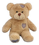 Brown Heart Bear