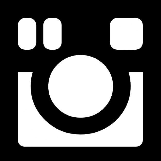 logo instagram negro