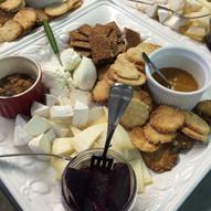 Leslie Cooperband - communal cheese plat