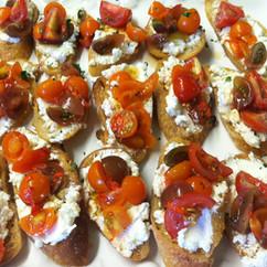 Leslie Cooperband - chevre and tomato cr