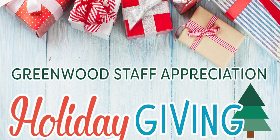 Last Day for Holiday Staff Giving!