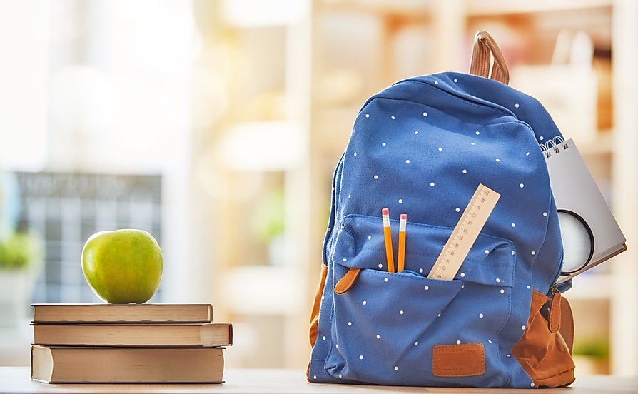 Back to school and happy time! Apple, pi