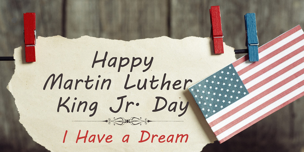 No School - Martin Luther King Day