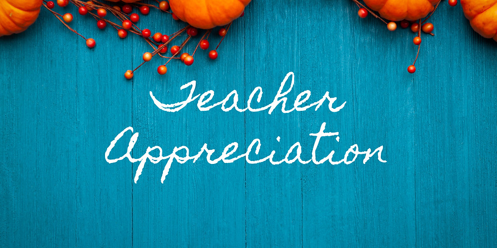 Thanksgiving Pies for Teachers & Staff