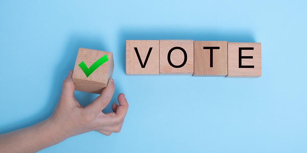 Vote on 2021/2022 Board Slate
