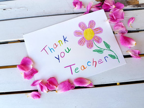 It's Teacher/Staff Appreciation Week!