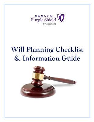 Will Planning Checklist - Purple Shield-