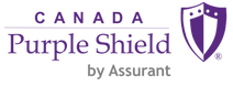 Canada Purple Shield Logo