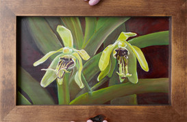 Twin Orchids 2018 - sold