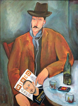 Wired Modigliani