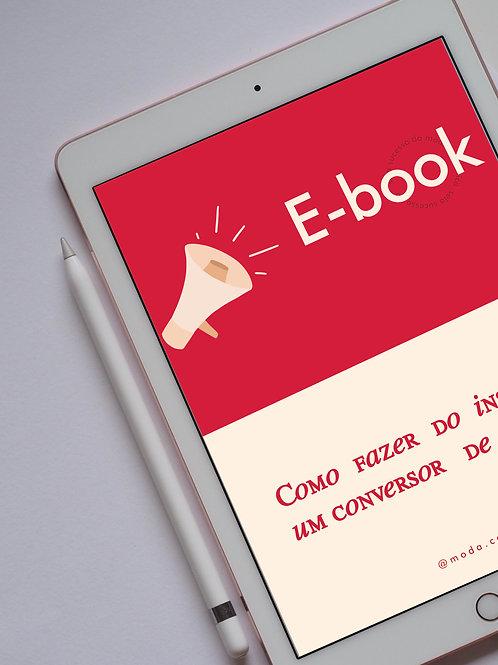 E-book: Como fazer do instagram um conversor de vendas