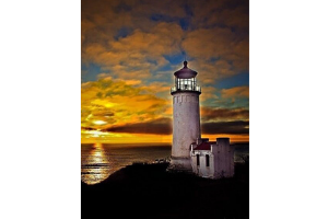 Stay the night at the North Head Lighthouse in Washington State's Cape Disappointment State Park