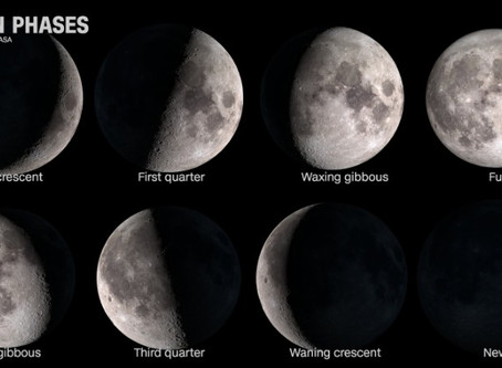 You've heard of a full moon, a new moon, a blue moon, a harvest moon. But what's a BLACK moon?