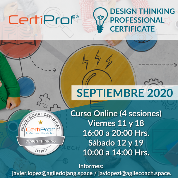 Curso de Certificación de Design Thinking