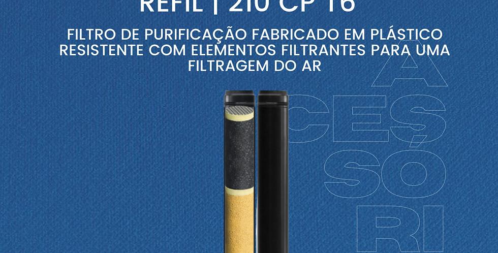 Refil Filtro Purificação 210 CP T6