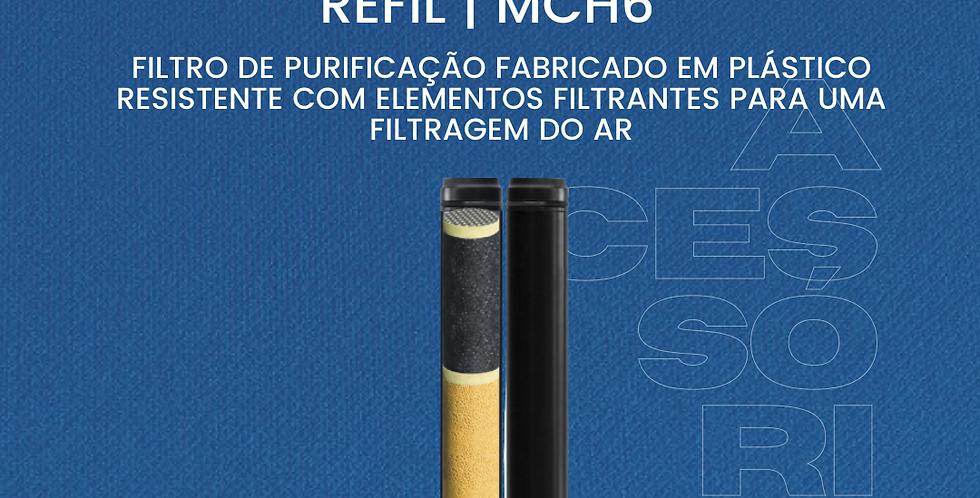 Refil Filtro Purificação MCH6