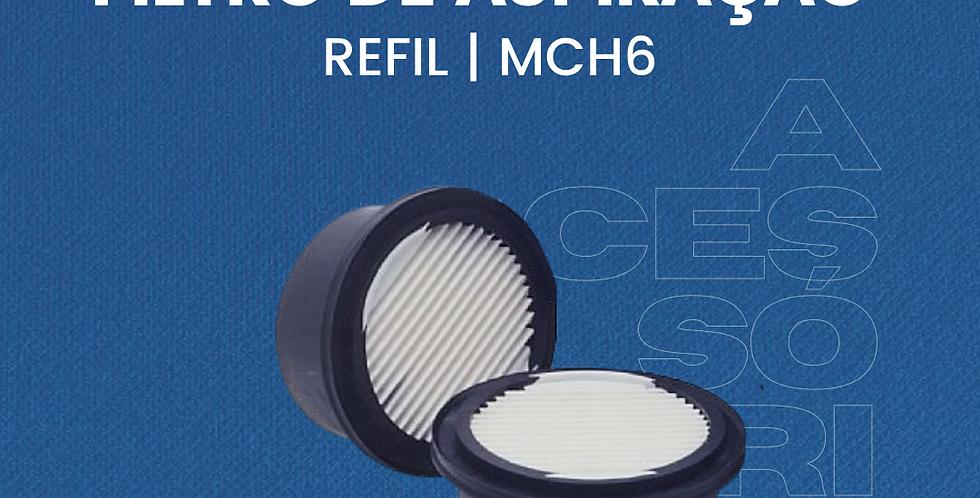 Refil Filtro Aspiração MCH6