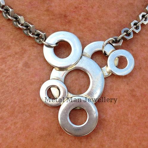 BM - Washer & Hex Nut Necklace