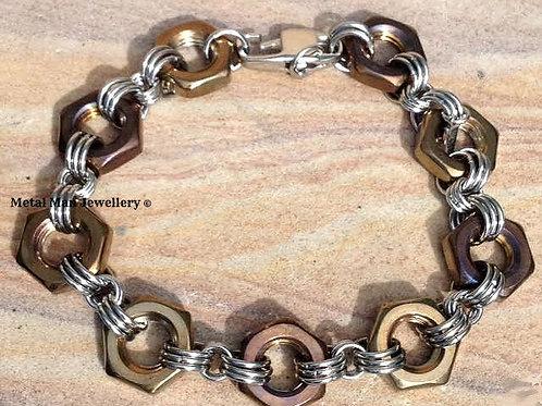 HT4 - Coloured M10 half nut bracelet
