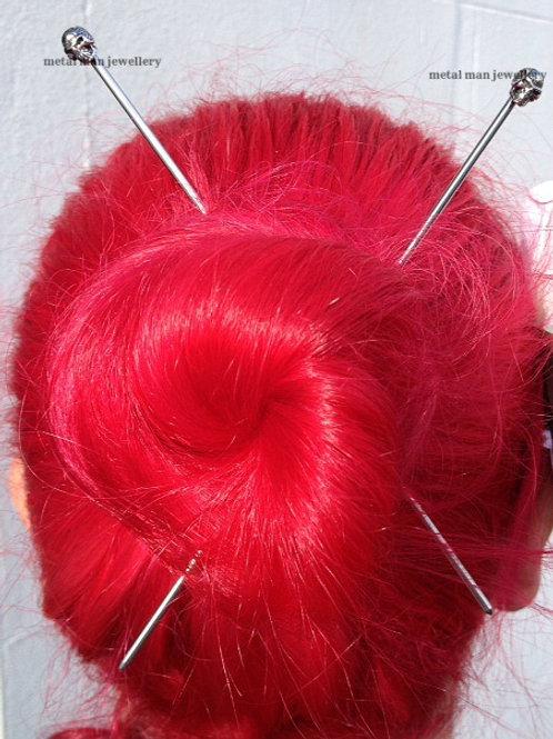 """A pair of Hair """"Chop"""" sticks"""