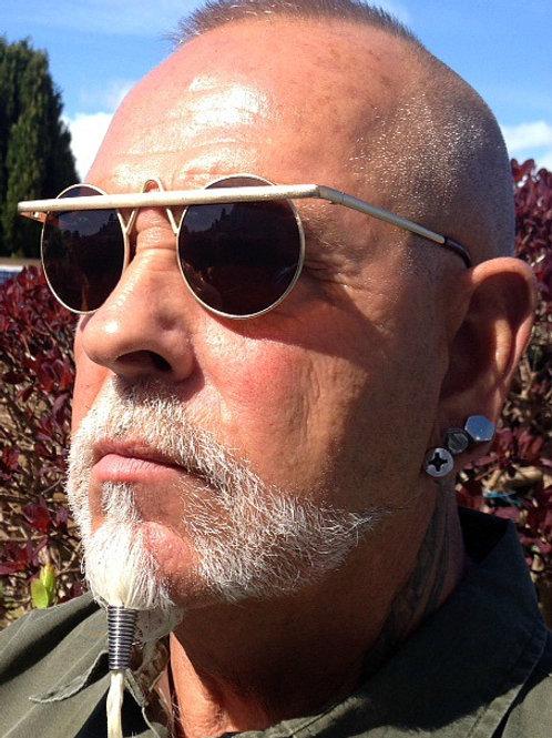 SZ6 Brown lens V Frame sunglasses