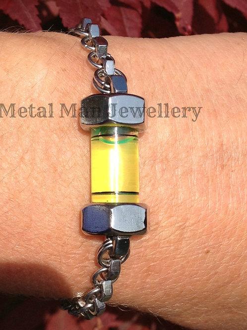 L5 - M3 single ring hex nut & level bracelet