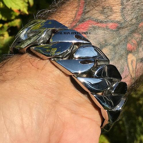 TL - Thick linked bracelet