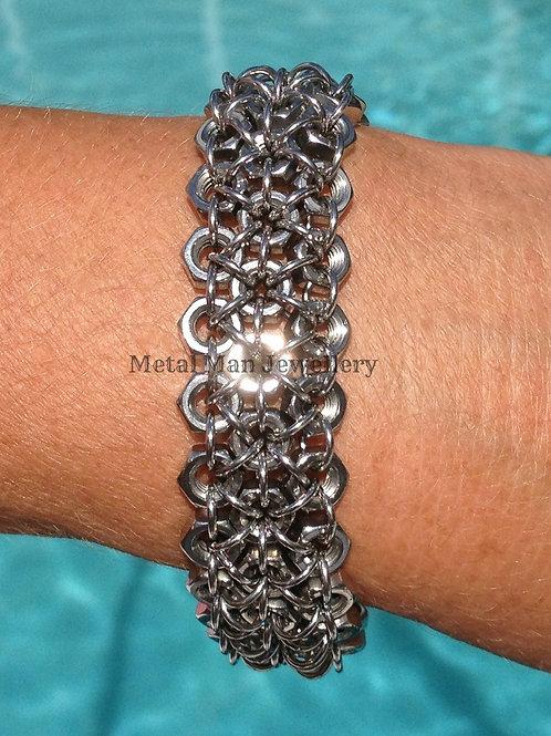 C1 - M4 3 Strand Hex Nut Bracelet
