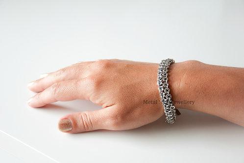 C6 - M3 2 Strand Hex Nut Bracelet