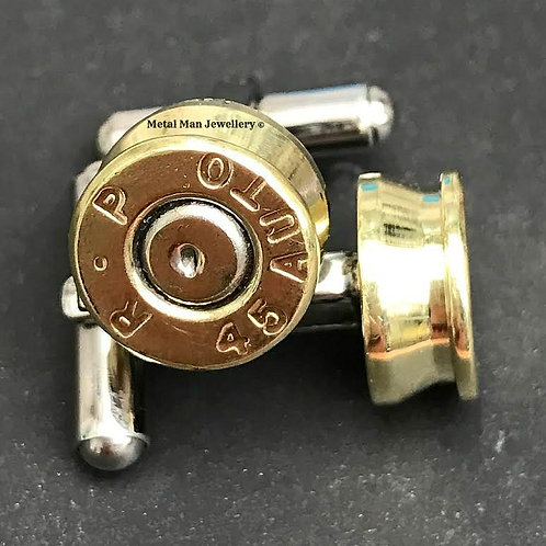 CU2 - Bullet end cap cufflinks