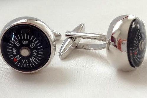 CU4 - Compass cufflink