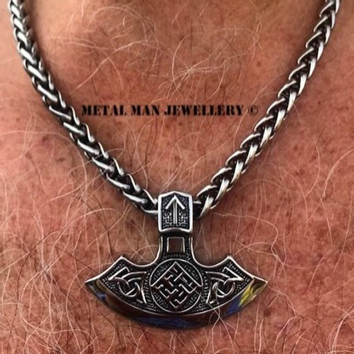TB - Large Thor Blade Necklace