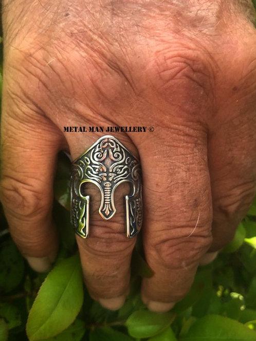 SPA - Spartan helmet ring