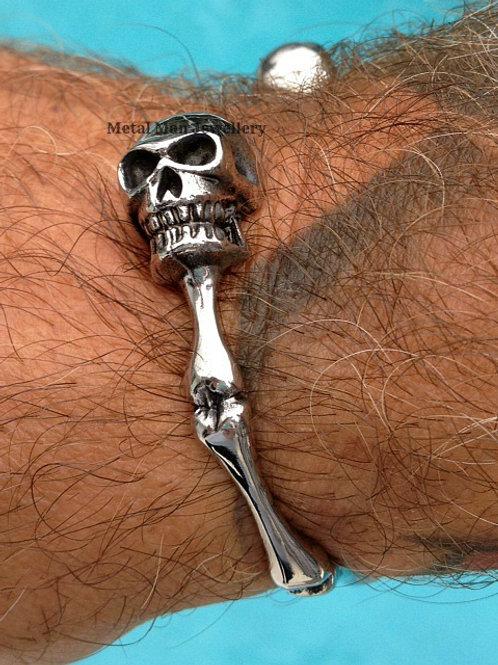 SKS - Skull and bone bangle
