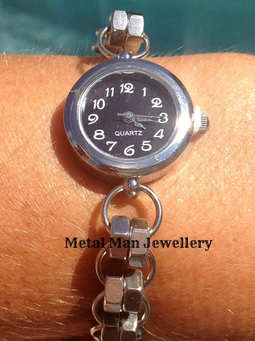 WC3 - Double Hex Nut Strap Watch