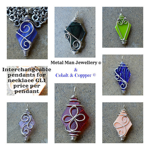 GL11 - Interchangeable pendant for necklace GL1
