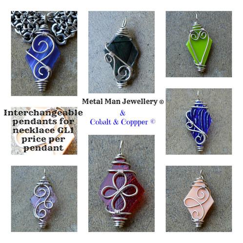 Gl11 interchangeable pendant for necklace gl1 metalmanjewelry gl11 interchangeable pendant for necklace gl1 aloadofball Images