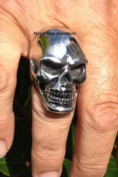 R7 - Unisex large skull ring