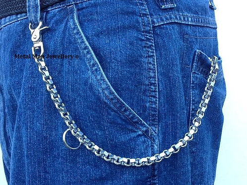 WD1 - M6 hex nut wallet chain