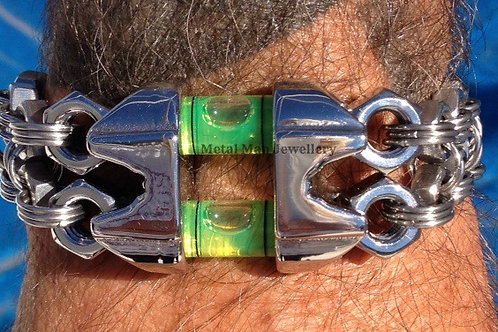 L - Wire Rope Clip and Level Bracelet