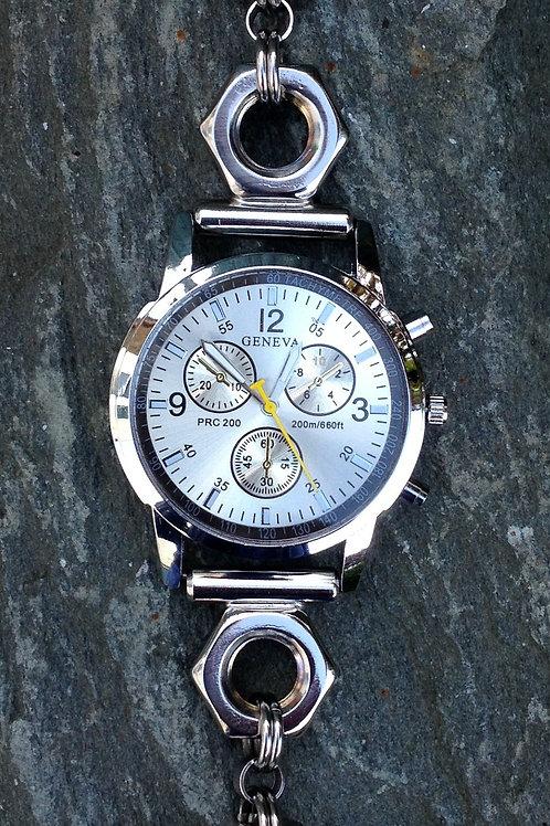 WCM1 M10 half nut strap, single dial watch