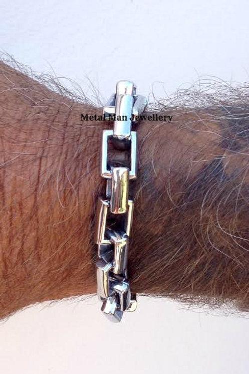 REC - Rectangle link bracelet