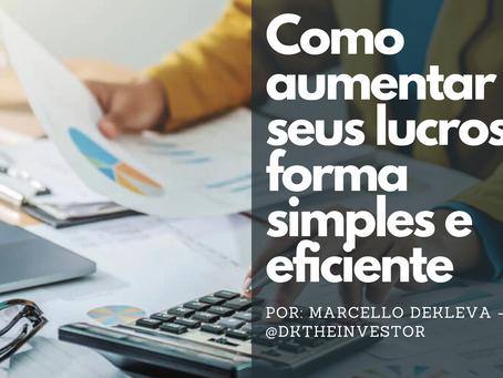 Fórmula (nada mágica) para aumentar a lucratividade do seu negócio
