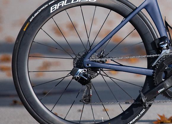 BALDISO Carbon Laufradsatz (50 mm) für Disc oder V-Brake
